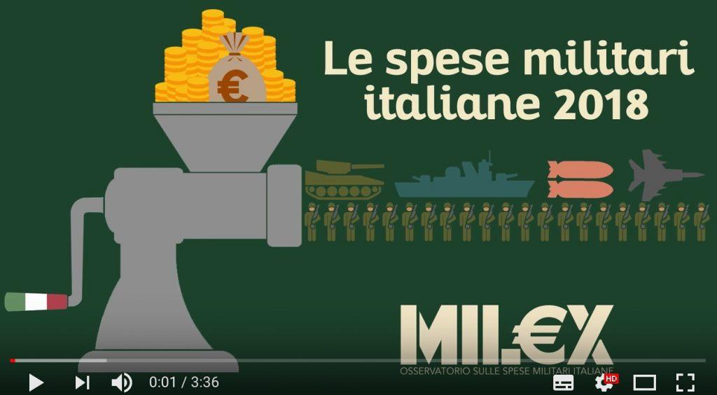 Le spese militari italiane per il 2018, in tre minuti