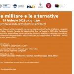La spesa militare e le alternative