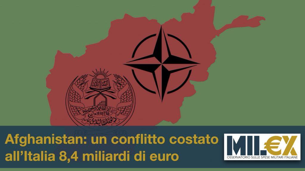 Afghanistan: un conflitto costato all'Italia 8,4 miliardi